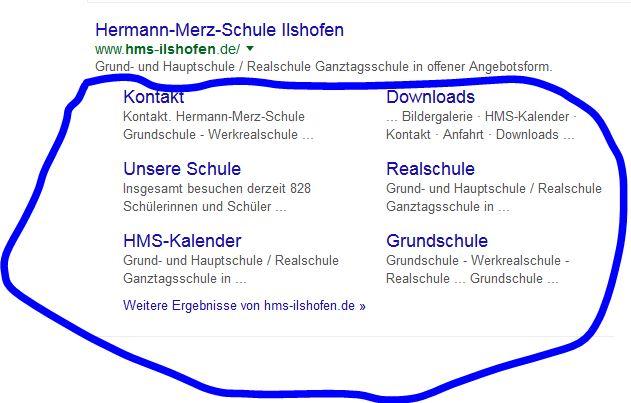 Google Seitenuntermenü - Allgemeine Fragen - Joomla de